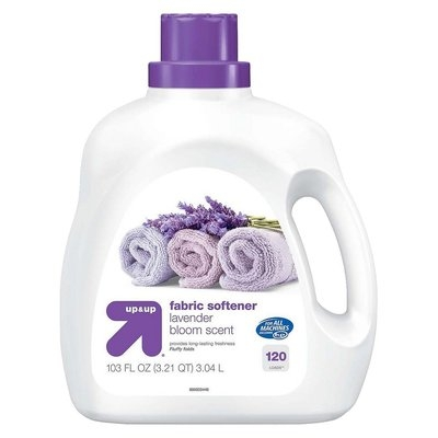 up & up Liquid Fabric Softener - Lavender Scent - 100 oz