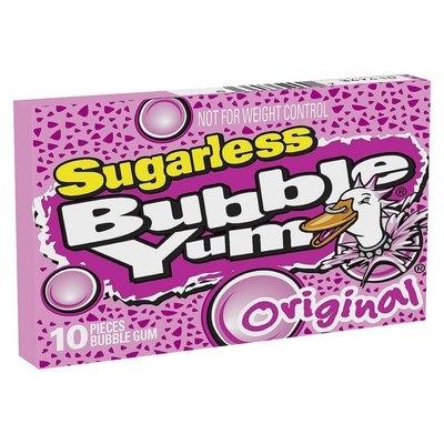 Fansedge Bubble Yum Original Sugarless Bubble Gum 10 pc