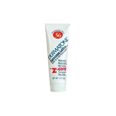 Dermatone 371320 Z-Cote Cream Spf36 Tube 1 oz.