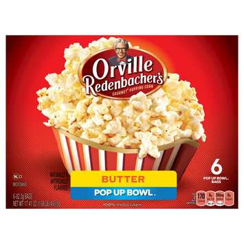 Orville Redenbacher's Butter Microwave Popcorn 6 ct