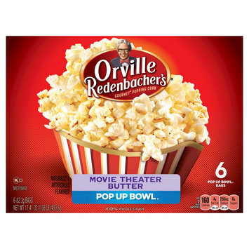 Orville Redenbacher's Movie Theater Butter Microwave Popcorn 6 ct