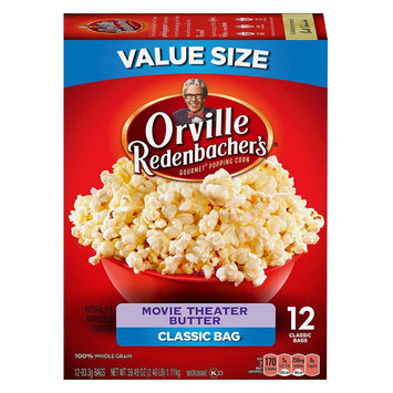 Orville Redenbacher's Movie Theater Butter Microwave Popcorn 10 ct
