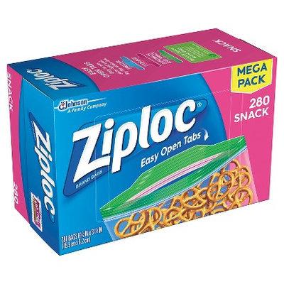 Ziploc Snack Bags 300 ct