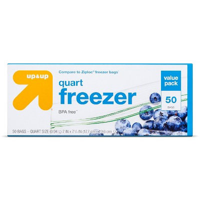 up & up Quart Freezer Bags