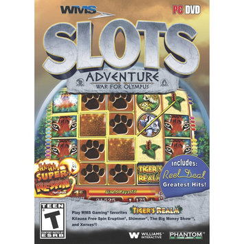PHANTOM EFX 11745 WMS SLOTS ADVENTURE: WAR FOR OLYMPUS -WIN XPVISTAWIN 7WIN 8