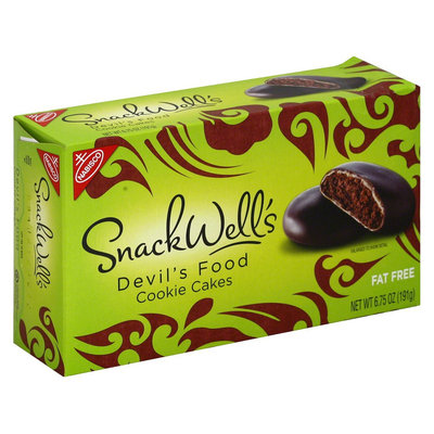 SnackWell's Devil's Food Cookie Cakes 6.75 oz