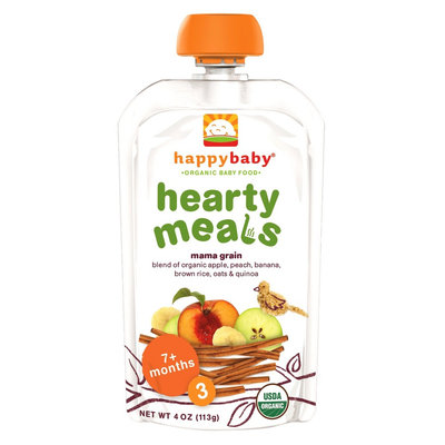 Happy Baby Stage 3 Hearty Meals Mama Grain Organic Baby Food - 4 oz