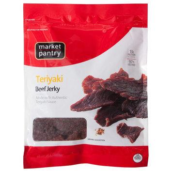 Market PantryTeriyaki Beef Jerky 10 oz
