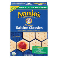 Annie's Homegrown Organic Saltine Crackers 6.5 oz