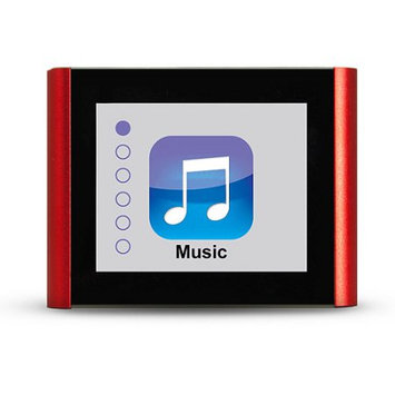 Machspeed ECLIPSE-V180RD 8GB MP3 Plus Video Player - 1.8-inch Display - USB 2.0 - Red