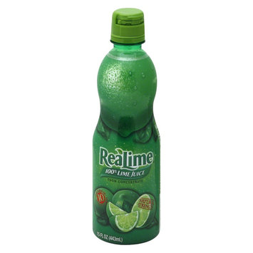 ReaLime 100% Lime Juice 15 oz