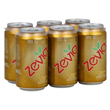 Target Zevia Diet Cream Soda All Natural Soda 12 oz 6 pk