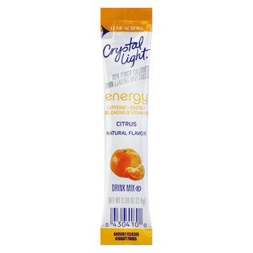 Crystal Light On the Go Citrus Energy Drink Mix 10 pk
