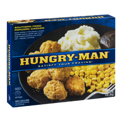 Hungry-Man Southern Fried Popcorn Chicken