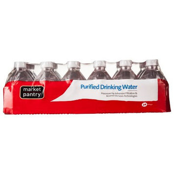 Market Pantry Mini Purified Water 24 Count