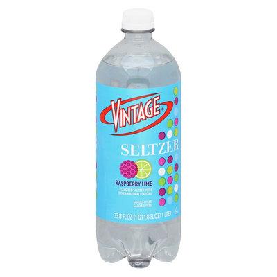 Vintage Raspberry Lime Seltzer 33.8 oz