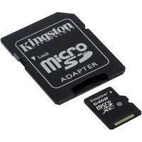 Kingston SDCX10/64GB 64GB Microsdxc Class 10 Flash Card