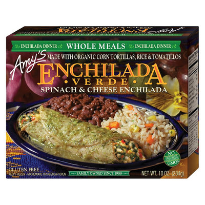 Amy's Kitchen Amy's Spinach & Cheese Enchilada Verde 10 oz