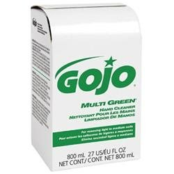 GO-JO INDUSTRIES 917212EA Multi Green Hand Cleaner 800-ml Bag-in-box Dispenser Refill
