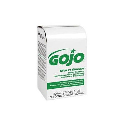 GO-JO INDUSTRIES 917212EA Multi Green Hand Cleaner 800-ml Bag-in-box Dispenser Refill