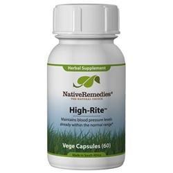 Native Remedies HIG001 High-Rite for Blood Pressure Control - 60 VegeCaps