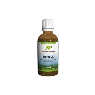 Native Remedies WDR001 Worm Dr. for Intestinal Balance - 50ml