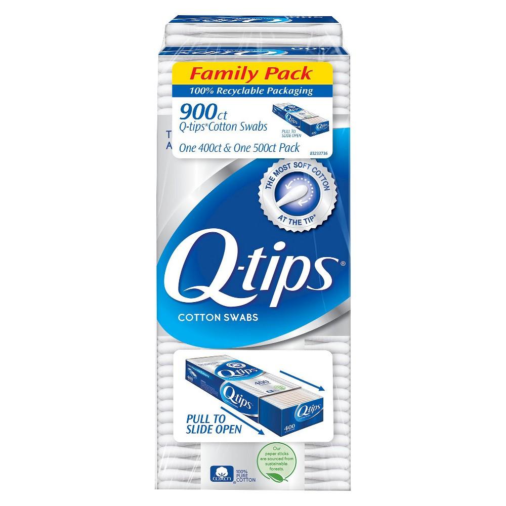 Q-tips Cotton Swabs - 900 Count