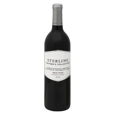 Sterling Vintners Sterling Vinter's Collection Central Coast 2010 Meritage Red Wine 750