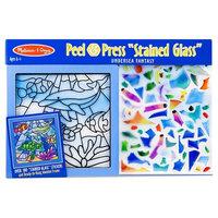 Melissa & Doug Stained Glass Peel & Press Kit