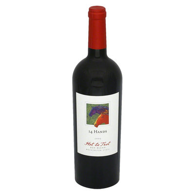 St Michelle 14 Hands Hot to Trot Washington State 2009 Red Wine 750 ml