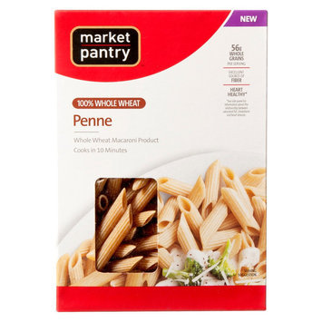 Market Pantry Whole Wheat Penne Pasta 13.25 oz