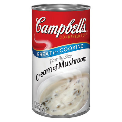Campbell's Family Size Cream of Mushroom Condensed Soup 26 oz