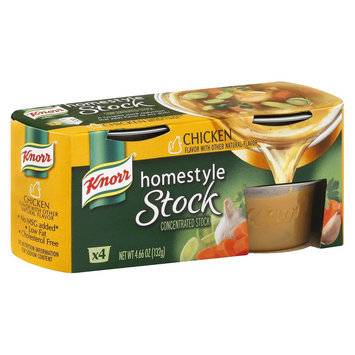 Knorr Reduced Sodium Homestyle Chicken Stock 4 oz 4 pk