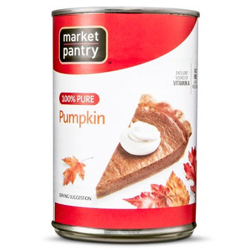 Market Pantry Pumpkin (No Filling) 15 oz