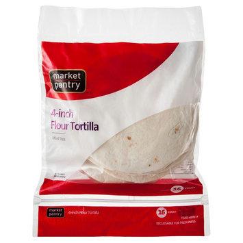 Market Pantry 4-inch Flour Tortillas 16 oz