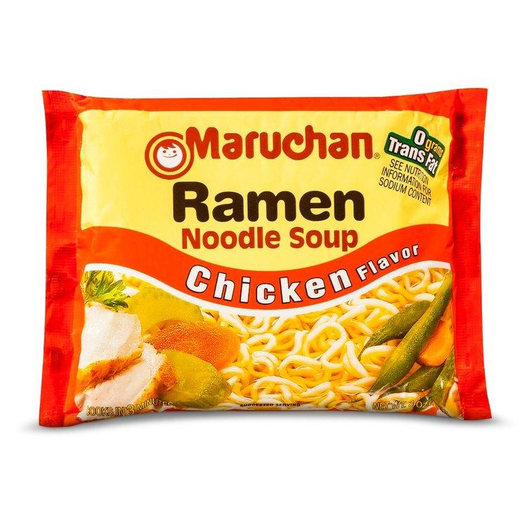 All Maruchan Ramen Chicken Noodle Soup 3 oz