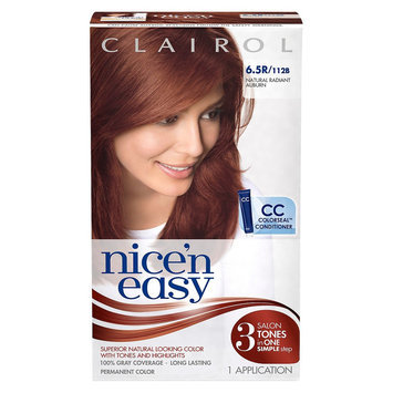 Nice N Easy Clairol Nice 'n Easy Permanent Hair Color 112 B Natural Radiant Auburn 1 Kit