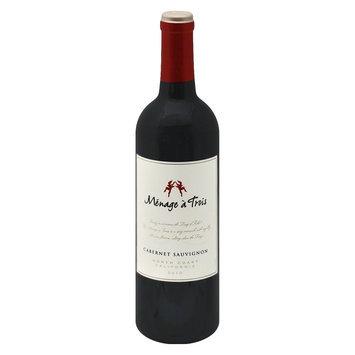 Menage a Trois North Coast California 2010 Cabernet Sauvignon Wine