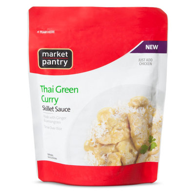 Market Pantry Thai Green Curry Skillet Sauce 9 oz