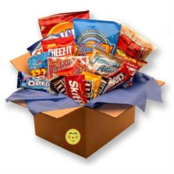 Gift Basket Snackdown Deluxe Snacks Care Package- 819332