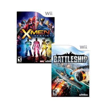 Solutions 2 Go Wii Game Xmen Destiny+Bttleship