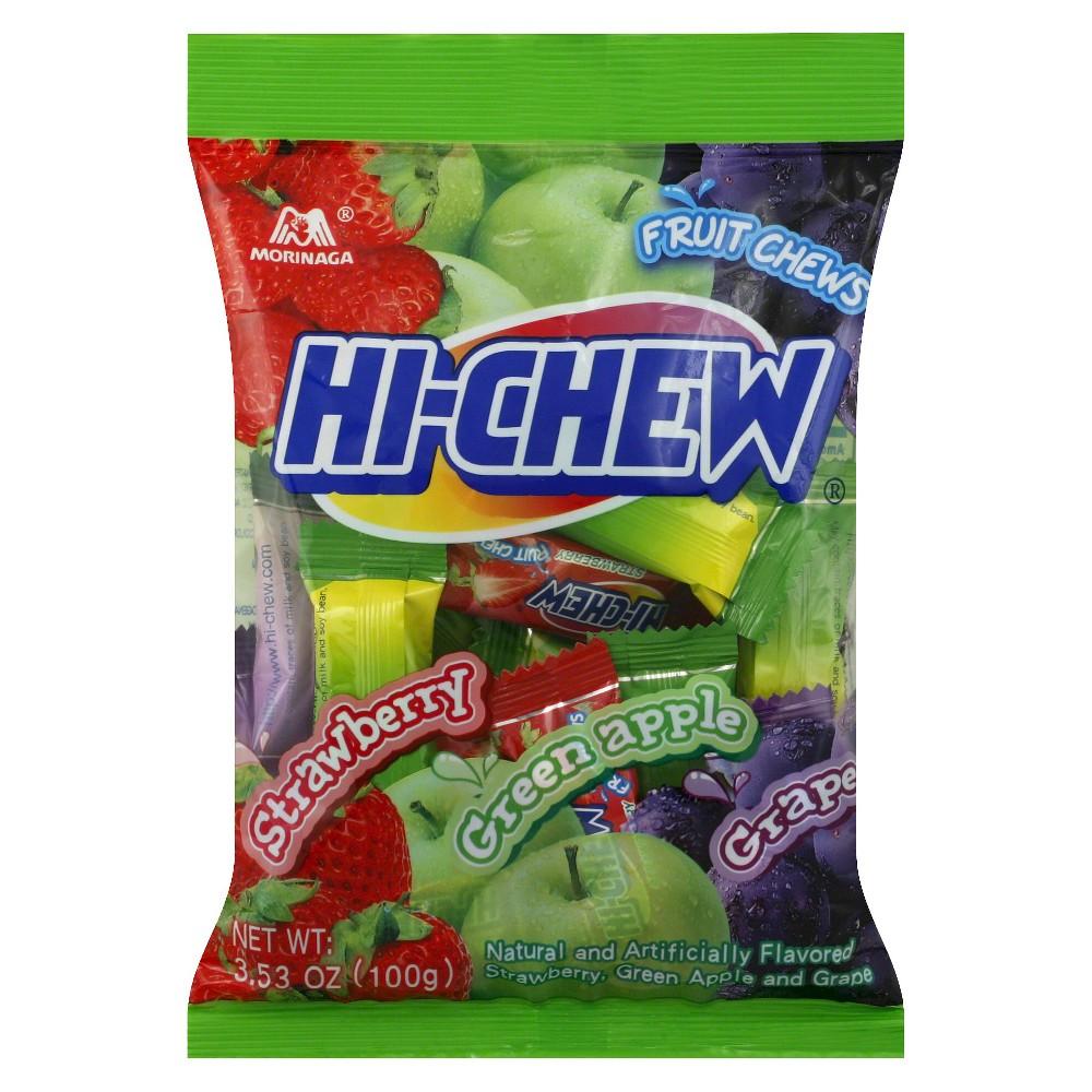 Morinaga Hi-Chew Strawberry/Green Apple/ Grape Fruit Chews 3.53 oz