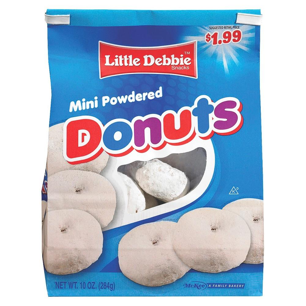 Little Debbie Mini Powdered Donuts