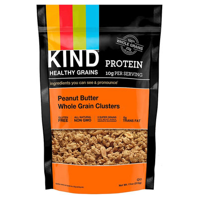 Kind Healthy Snacks Kind Healthy Grains Protein Peanut Butter Whole Grain Clusters 11 oz