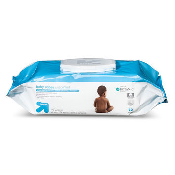 up & up Baby Wipes - Unscented - 72 ct