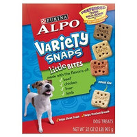 ALPO® VARIETY SNAPS® Little Bites With Beef, Chicken, Liver & Lamb Flavors Dog Treats