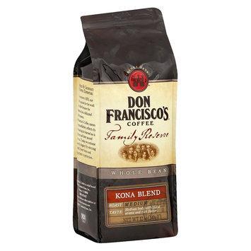 Don Francisco's Family Reserve Kona Blend Whole Bean Coffee 12 oz