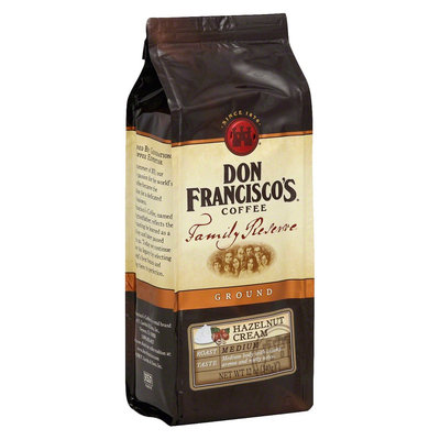 Don Francisco's Family Reserve Hazelnut Cream Ground Coffee 12 oz