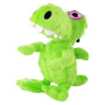 Quaker Pet Group Chew Tuff Dinosaur Dog Toy - Assorted Colors (Large)