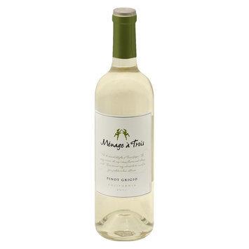 Menage a Trois California 2011 Pinot Grigio Wine 750 ml